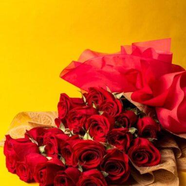 Ramo con 24 Rosas Rojas